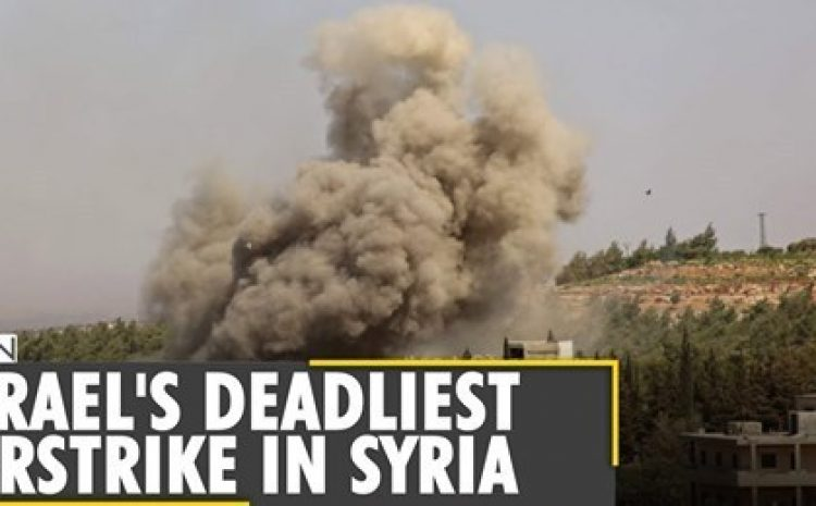 Predictions Prove Spot On Israel Carries Out Deadliest Airstrike In Syria, Kills 57 People Astrologer Anil Aggarwala